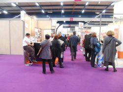 Le stand de l'association au salon des séniors de (...)